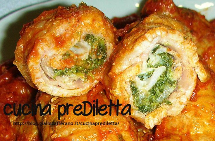 Involtini con prosciutto e spinaci - ricetta della domenica