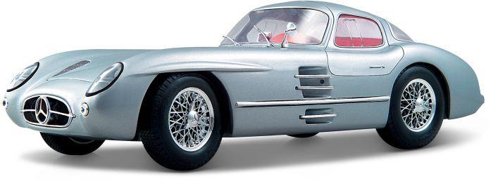 Maisto Mercedes 300 SLR Uhlenhaut Coupe 1/18 (36898) - http://kids.bybrand.gr/maisto-mercedes-300-slr-uhlenhaut-coupe-118-36898/