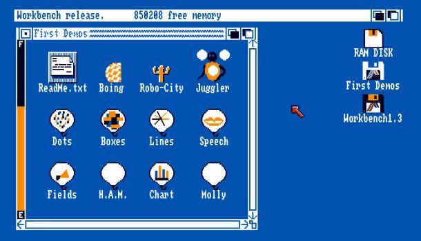 Google emulates 1980s-era Amiga computer in Chrome