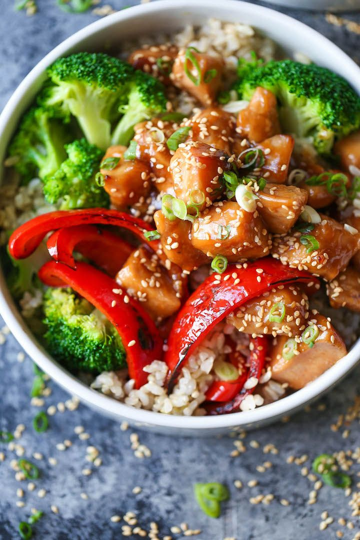 Bowls - Meal prep for the entire week with teriyaki chicken, broccoli ...