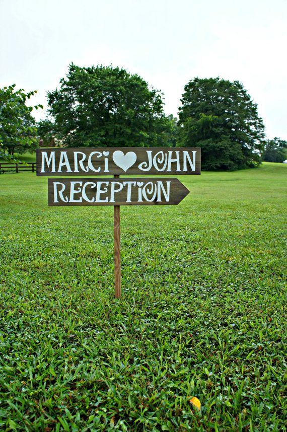 Wedding Reception Sign Wedding Reception by CountryWeddingSigns, $45.00