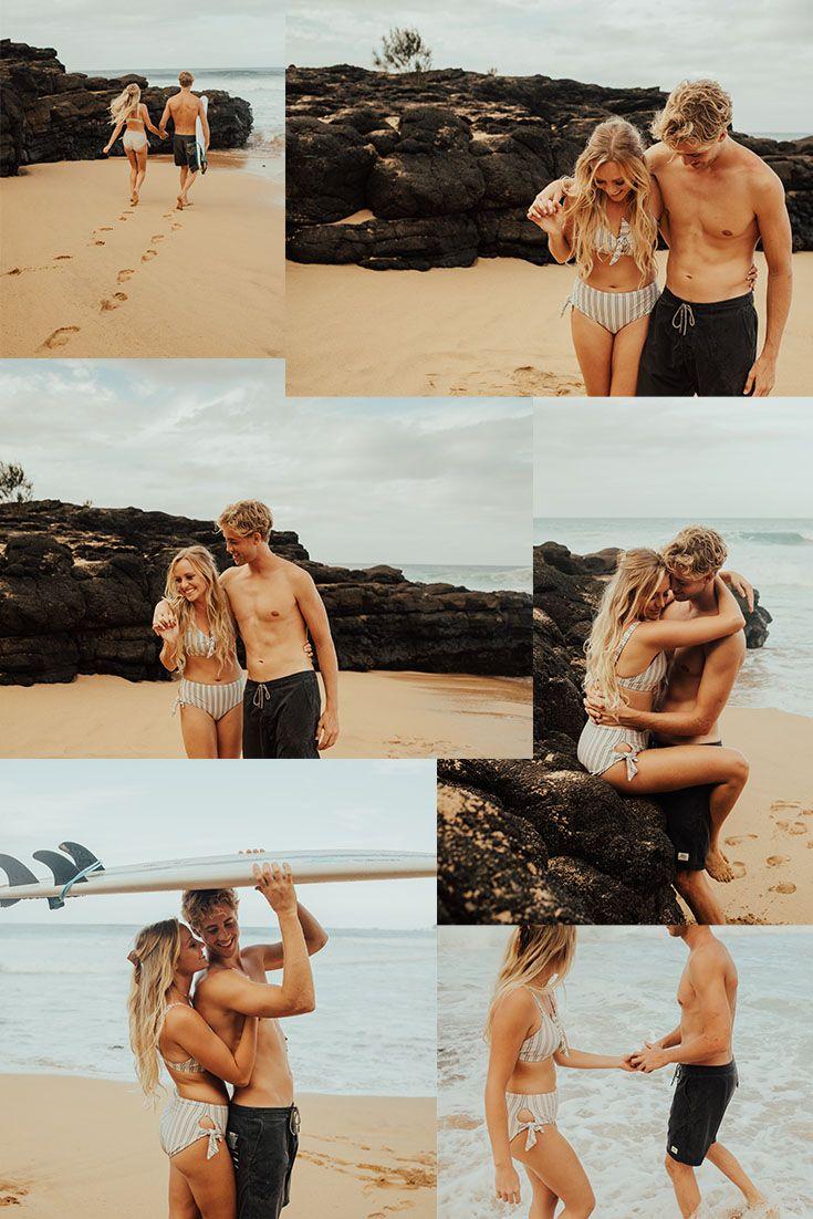 Kauai Beach Couple Session