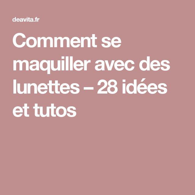idee su Comment Se Maquiller su Pinterest  Se Maquiller, Maquiller ...