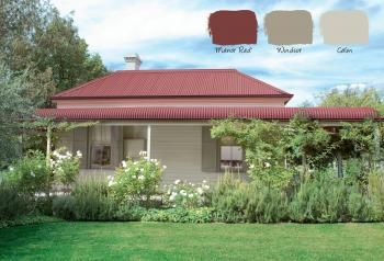 Heritage 7 - choosing a heritage colour scheme