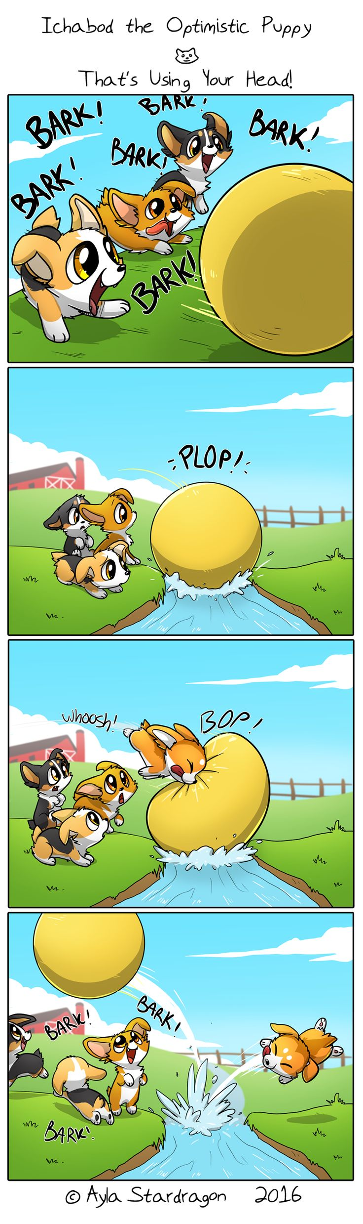 Ichabod the Optimistic Canine :: That's Using Your Head! | Tapastic Comics - image 1