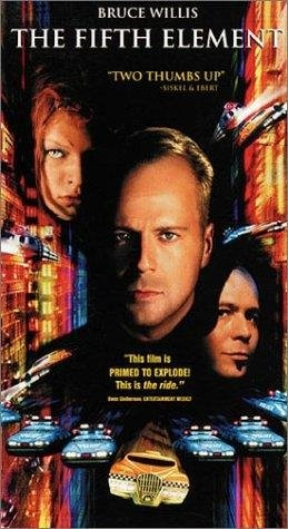 The Fifth Element...Bruce & Milla rock in this campy scifi! Both are the god & goddess of action flix.