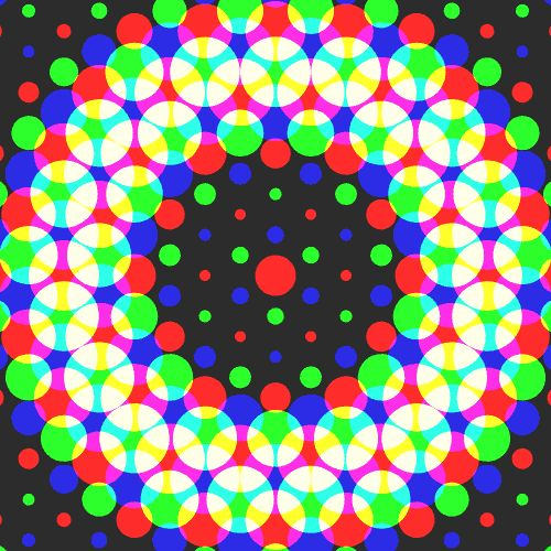 GIF colors, shapes