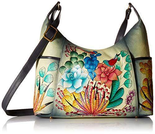 86842bb26c16 Anna by Anuschka Women's Genuine Leather Large Hobo Handbag | Zip ...