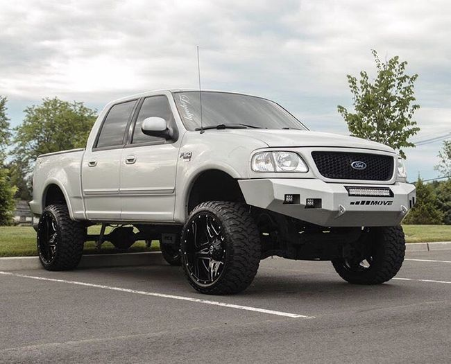Classic Front Bumper Kit Ford F150 Lifted Ford F150 Custom Lifted Ford Trucks