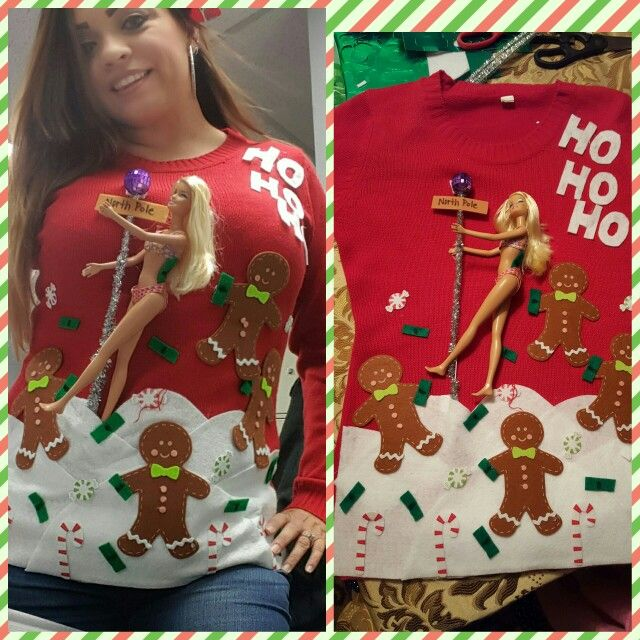 my ugly sweater stripper barbie strippers and dollar