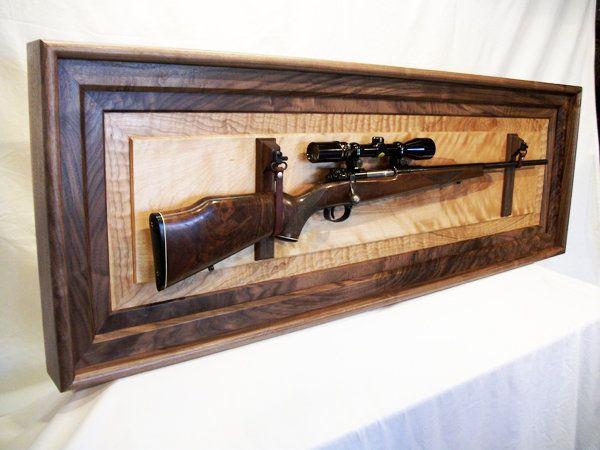 Rifle Display - by WoodshopJoe @ LumberJocks.com ~ woodworking ...