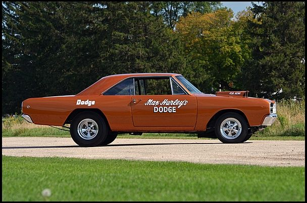 1968 Dodge Hemi Dart Lightweight Sold New at Grand Spaulding Dodge for sale by Mecum Auction