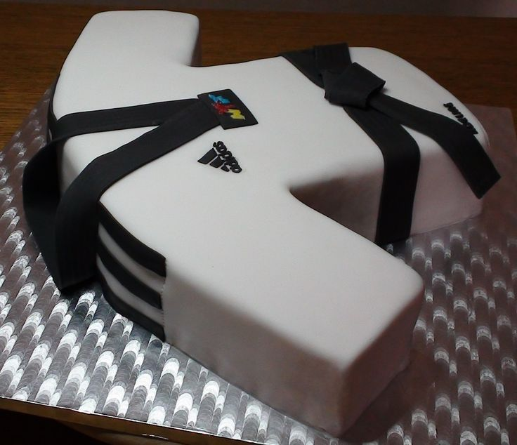 Gâteau Dobok (Taekwondo)