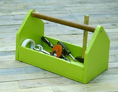 Como fazer uma caixa de ferramentas de madeira