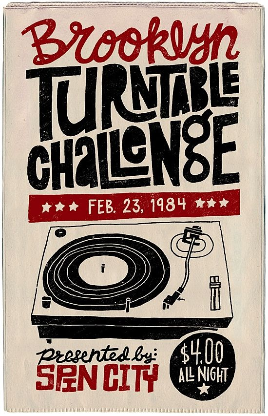 turntable challenge