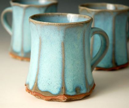 Ceramics by Joanna Howells at Studiopottery.co.uk - 2010. Mugs
