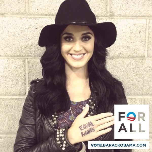 Katy Perry loves Obama!!!!