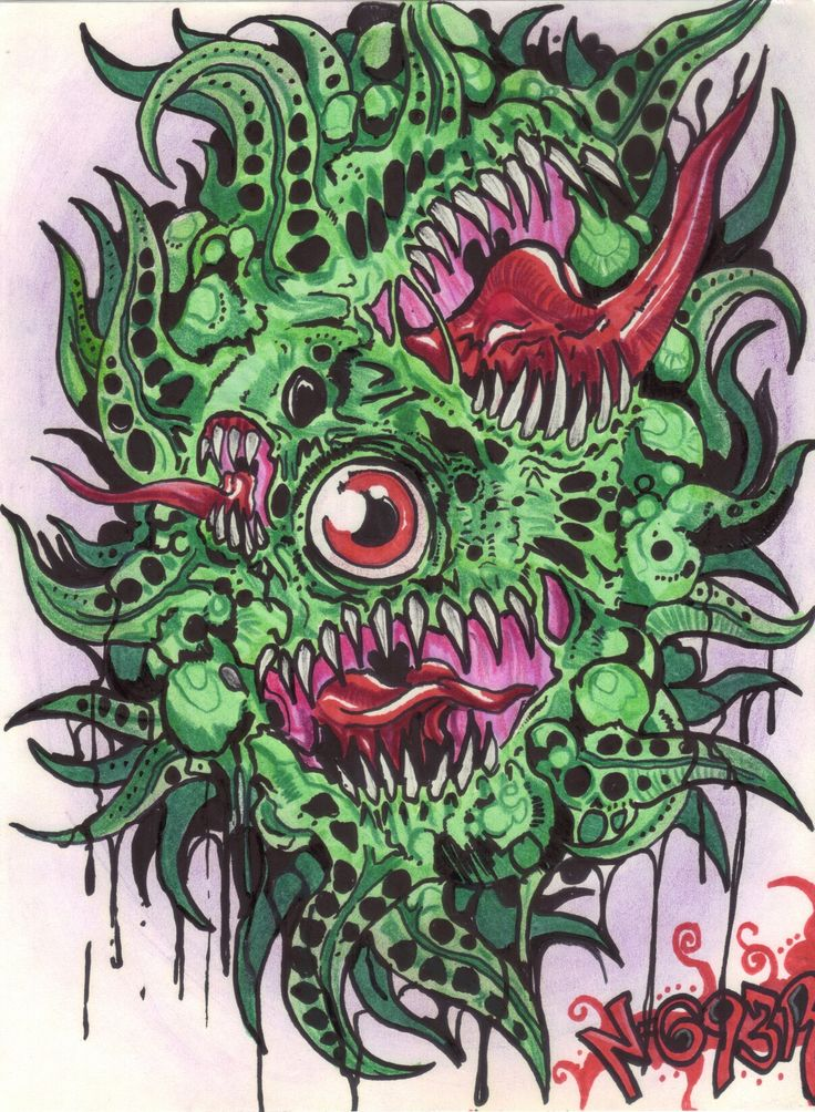The one eye horror By NOWER HB7
