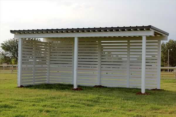 Diy Sun Shelters : Diy easy horse shelter and crafts pallet