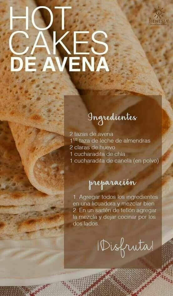 Hot Cakes de Avena