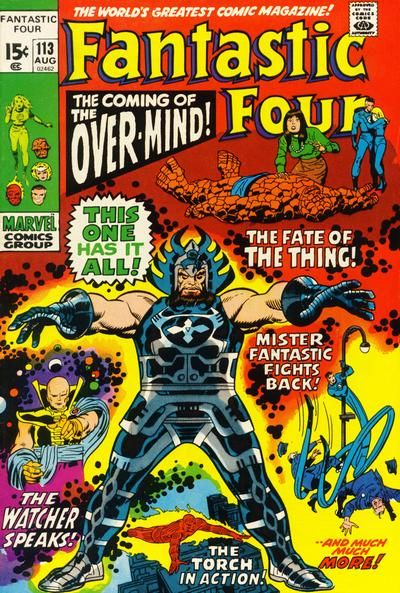 Fantastic Four #113. The Over-Mind. #FantasticFour #Overmind