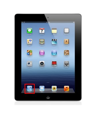The iPad uses Apple's Safari web browser.