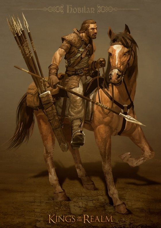 Portrait_Hobilar a good pic for a Messenger in the Warded Man books