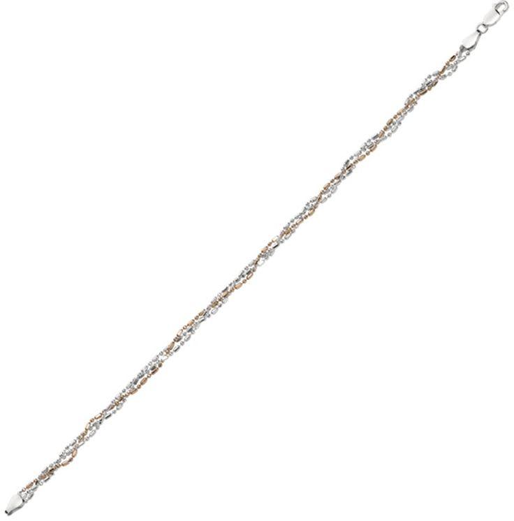 11' 925 Sterling Silver w/ Rhodium