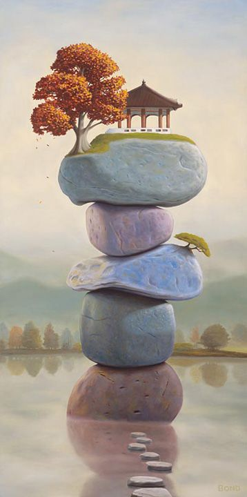 25 Beautiful and Surreal Oil Paintings by Paul David Bond. Follow us www.pinterest.com/webneel