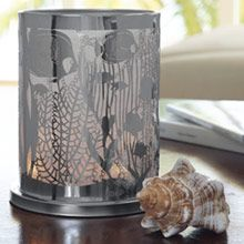 ENCHANTED CORAL VOTIVE HURRICANE  2016 New from PartyLite this Summer Shop Now: http://www.candlelady.biz  #Shop #hurricane #candles @partylite #aquatic #uniquegift