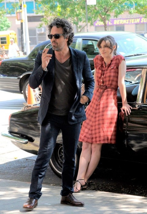 Keira Knightley with Mark Ruffalo