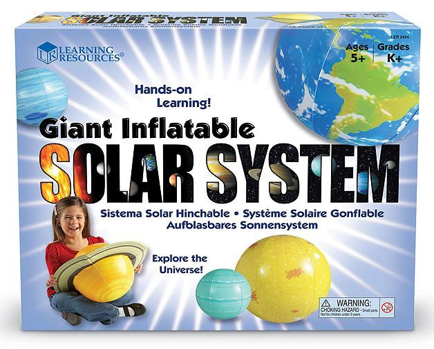 Tesco direct: Learning Resources Inflatable Solar System