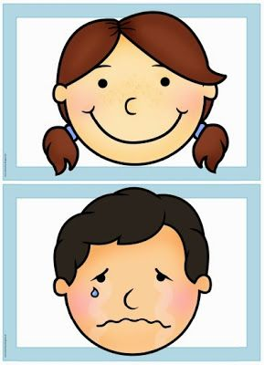 "Englisch in der Grundschule: Flashcards/Wordcards ""feelings/emotions"""