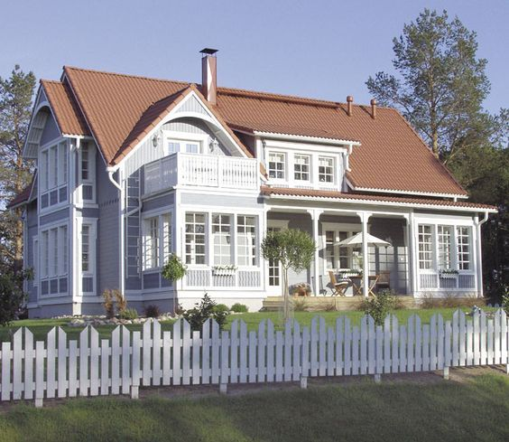 House in Finland - nice