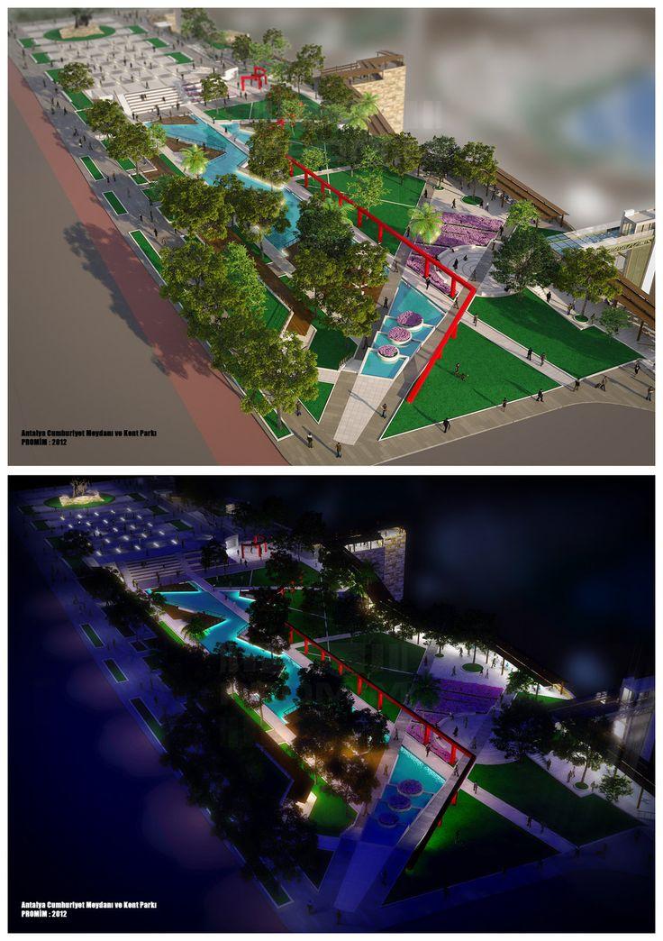 Antalya Cumhuriyet Meydani viz004 by bearsign.deviantart.com #landarch #peymim