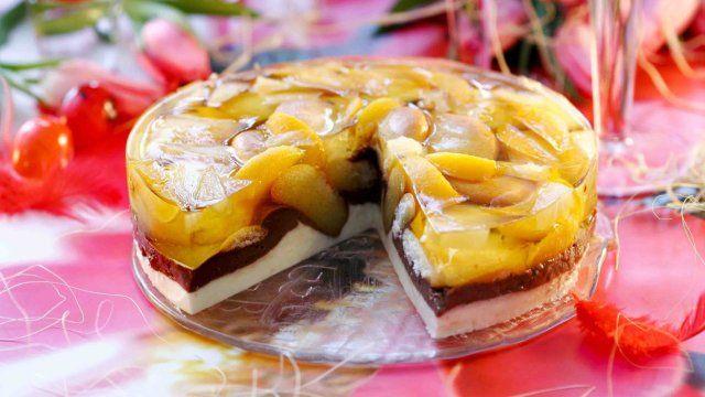 Serowo biszkoptowy przekładaniec - przepis | Gotuj z pasją z Kulinarnymi!