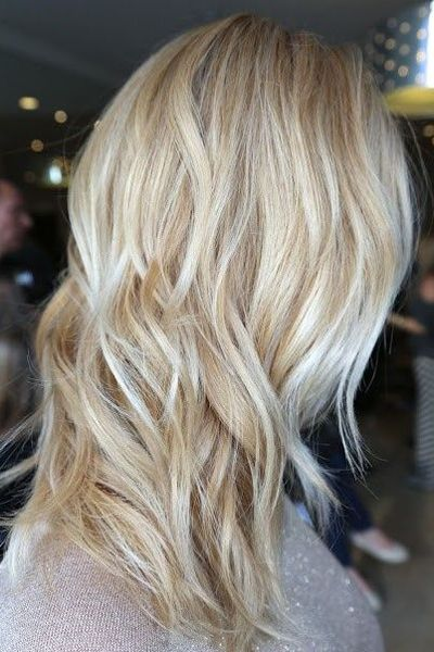 If you are a blond hair girl, this hairstyle can be a perfect choice to give you a fabulous look for the new season. It is really amazing when different blond shades mixed together on your hair.