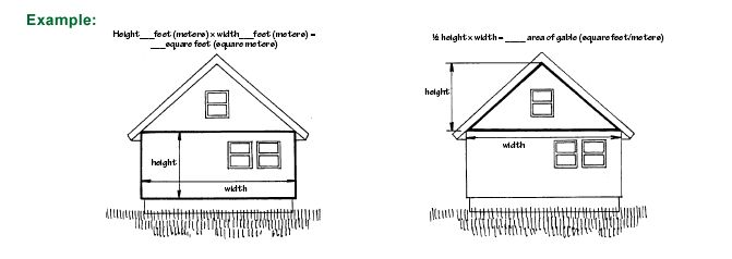 98 best construction images on pinterest tools wood for Vinyl siding calculator square footage