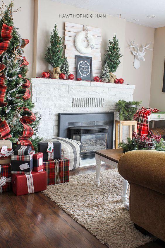 Como decorar la sala en navidad para casa de campo for Como adornar la casa para navidad