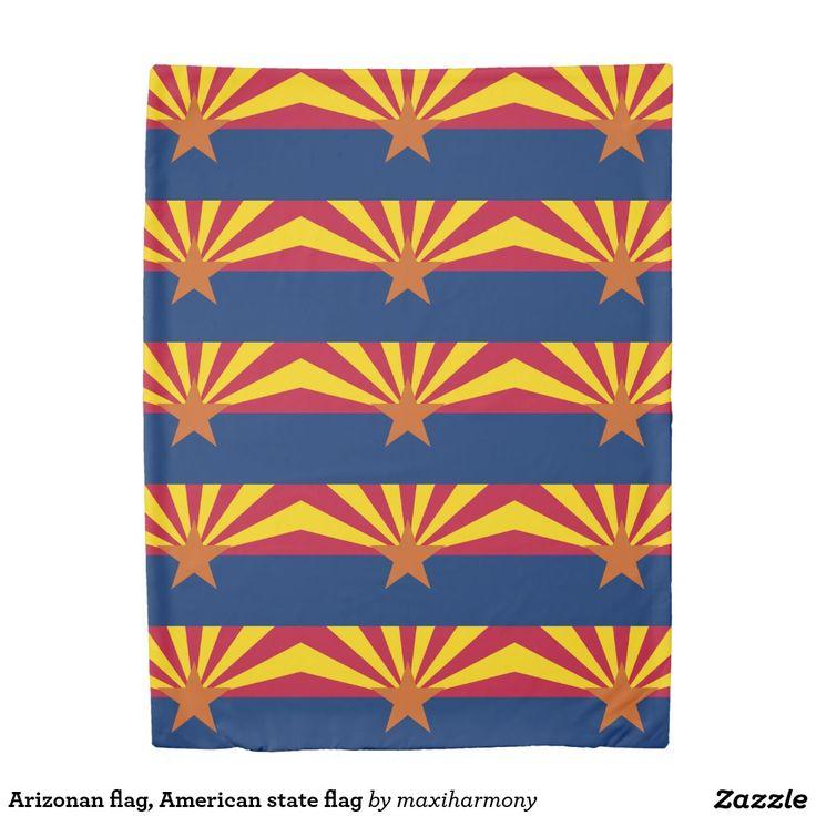 Arizonan flag, American state flag Duvet Cover