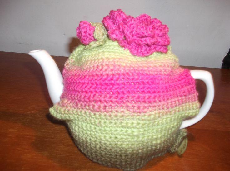 Pink Rose Teapot Cosy