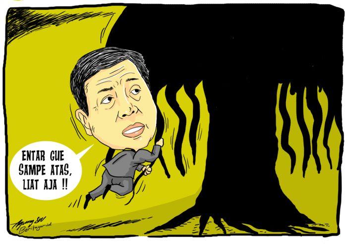 HORE! | Kasus Papa Minta Saham dianggap selesai, karena Mahkamah Konstitusi menolak rekaman bukan oleh penegak hukum sebagai barang bukti. Nama baik Setya Novanto dipulihkan, Golkar akan menaikkan dia jadi ketua DPR lagi.