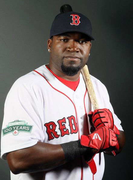 "David Américo Ortiz Arias ""Big Papi"" (11-18-75).  American professional baseball player with the Boston Red Sox of Major League Baseball. Ortiz is a designated hitter, and also occasionally plays first base in interleague games"