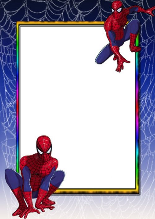 spiderman paper image