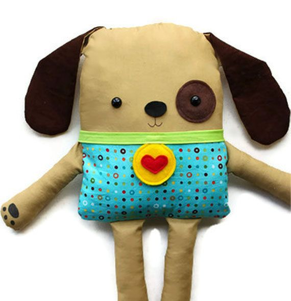 Dog Sewing Pattern  Toy Dog Softie Doll  PDF por GandGPatterns, $10.00