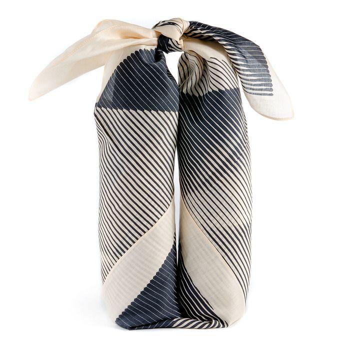 "++ ""Folded Paper"" Japanese Furoshiki Wrap by LINK"