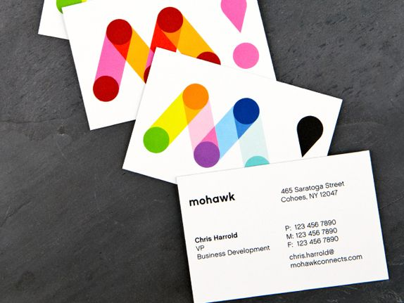 New brand identity for Mohawk, the largest privately owned manufacturer of fine papers and envelopes for commercial and digital printing in North America