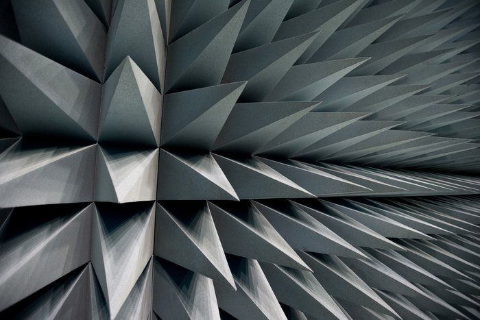 Space in Images - 2014 - 03 - Anechoic foam covering