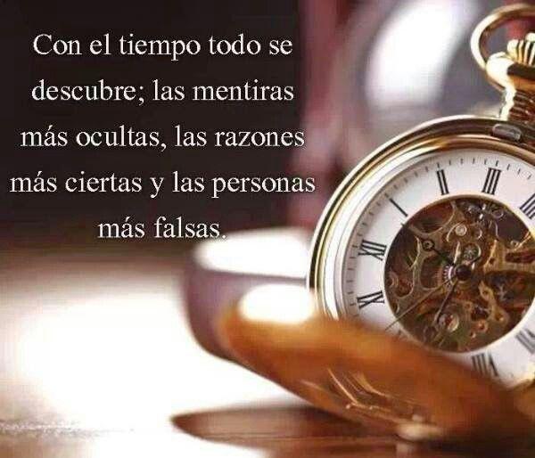 Con El Tiempo Todo Se Descubre Citadeld 237 A Frases Y