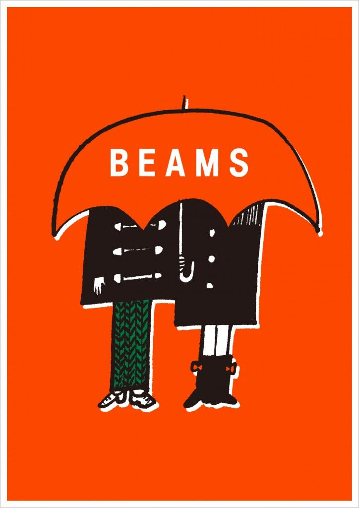 BEAMS 35th「恋をしましょう BEAMS」Winter(KOI-KURU/交通広告/原宿駅/交通広告/渋谷駅/店頭/交通広告グランプリ2012 グランプリ(最高賞))